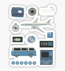 Lost blue Sticker