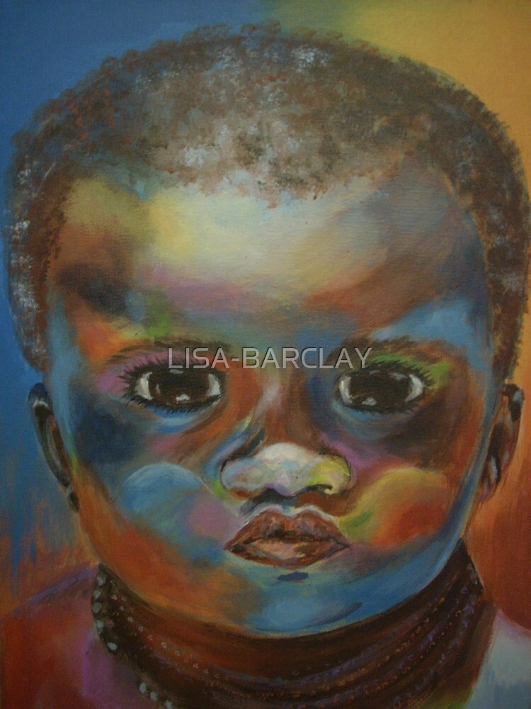 Quot African Boy Quot By Lisa Barclay Redbubble
