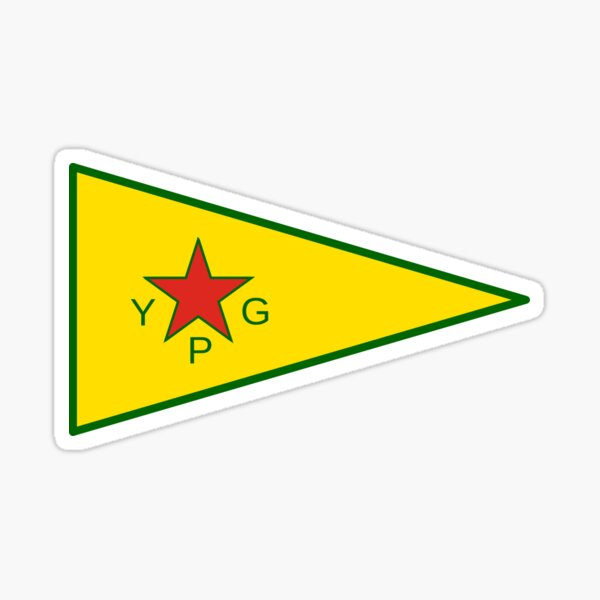 Flag of the People's Protection Units  Sticker