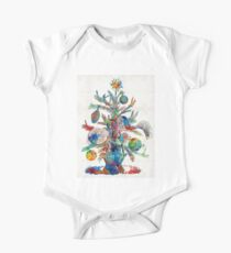 Colorful Christmas Tree Art by Sharon Cummings Kids Clothes