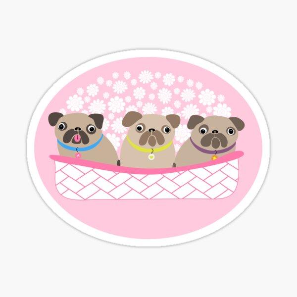 Bouquet of dogs Sticker
