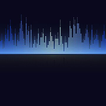Music Dj Equalizer Blue by CarlosV