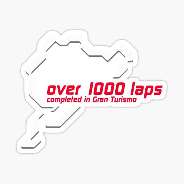 Nurburgring 1000 lap club - Gran Turismo Pegatina