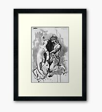 after Delacroix  Framed Print