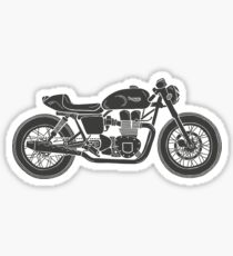 Triumph Bonneville - Cafe racer Sticker