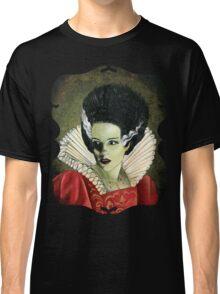 Renaissance Victorian Portrait - Bride of Frankenstein Classic T-Shirt