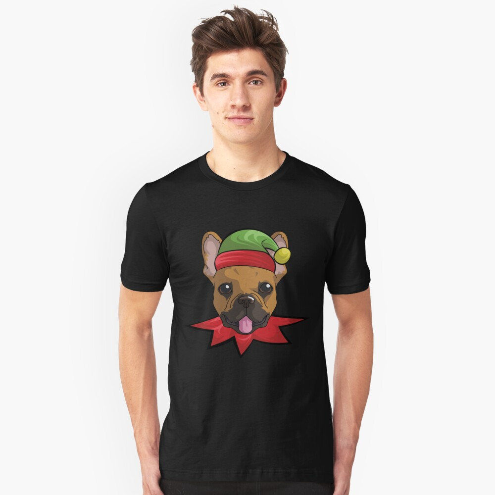elfdog french Unisex T-Shirt