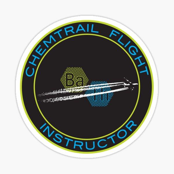 Chemtrail Flight Instructor Sticker