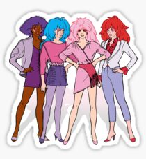 Jem and the Holograms - Group - Color Sticker
