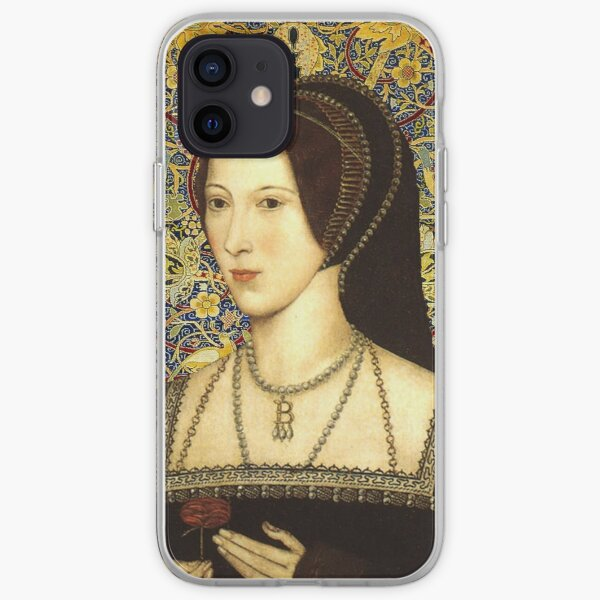 Anne Boleyn, Queen of England iPhone Soft Case