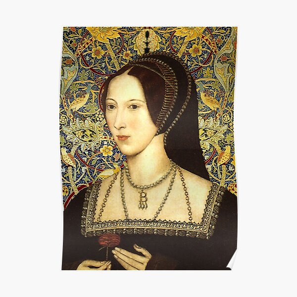 Anne Boleyn, Queen of England Poster