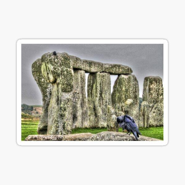 The Stones & The Crow Sticker