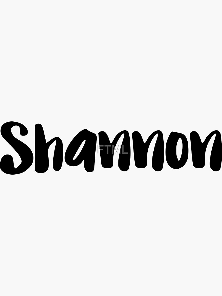 Shannon by FTML