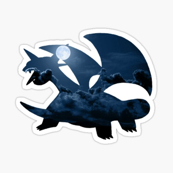 Salamence used Dragon Tail Sticker
