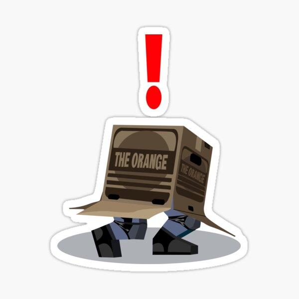 Metal Gear Solid (The Box) Sticker