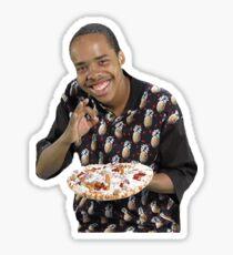 Graf Sweatshirt Pizza Sticker