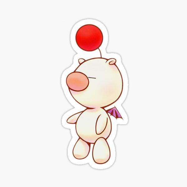 Kingdom Hearts Moogle Sticker