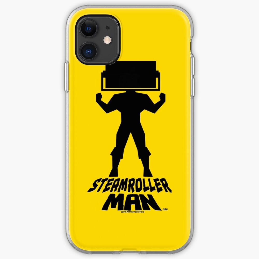 Steamroller Man Logo iPhone Case & Cover