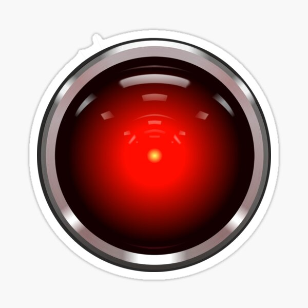 Hal Eyeball Sticker
