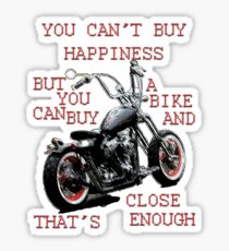 You Can't Buy Happiness Sticker