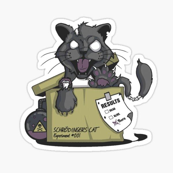 Le chat de Schrödinger Sticker