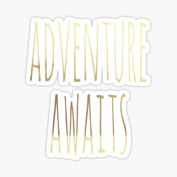 Adventure Awaits II Sticker
