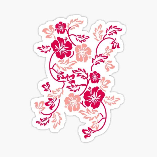 Hawaii Blume Sticker
