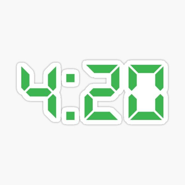 4:20 Time! Sticker