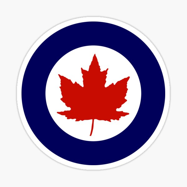 Roundel of the Royal Canadian Air Force, 1924-1968 Sticker