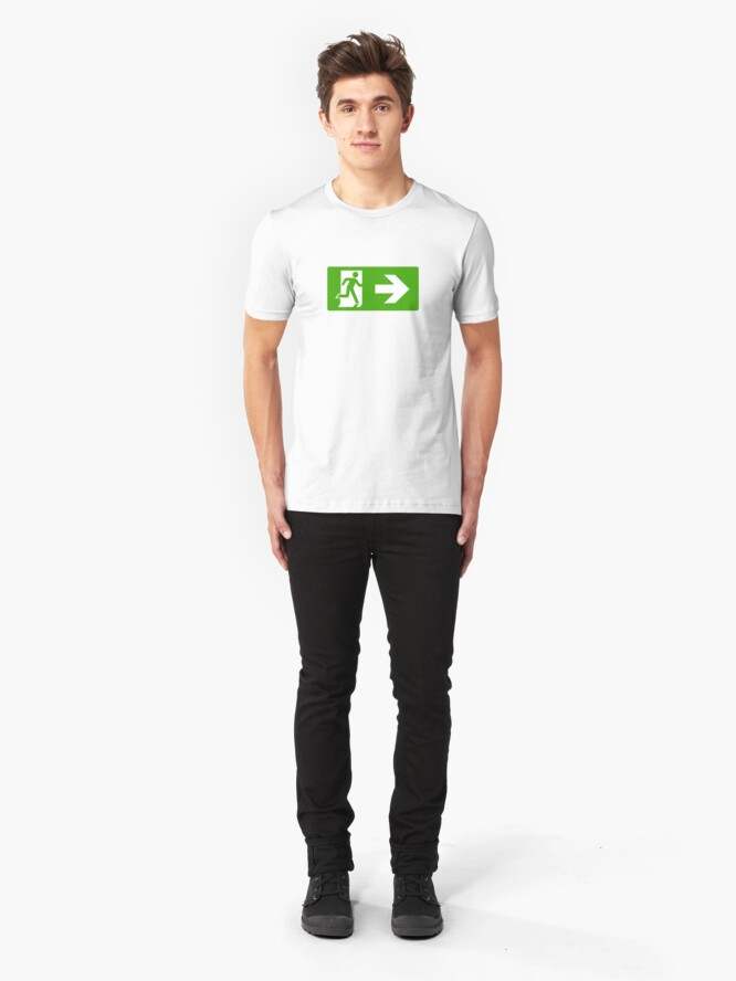 Alternate view of Exit Slim Fit T-Shirt