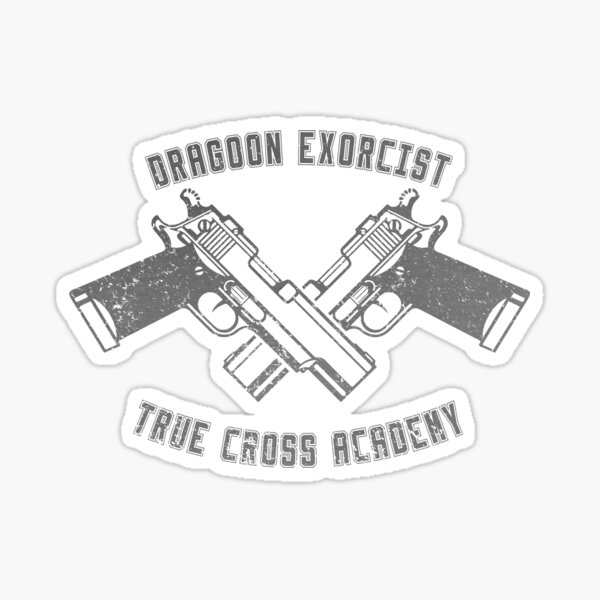 Dragoon Exorcist Sticker