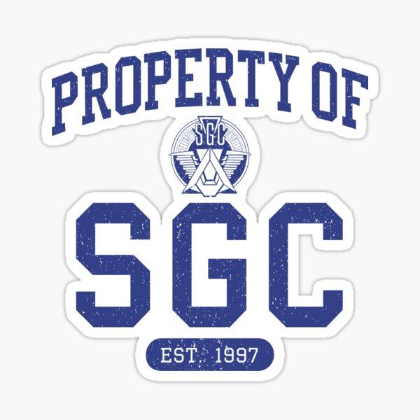 Propriété de SGC Sticker