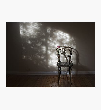 The Empty Chair Photographic Print
