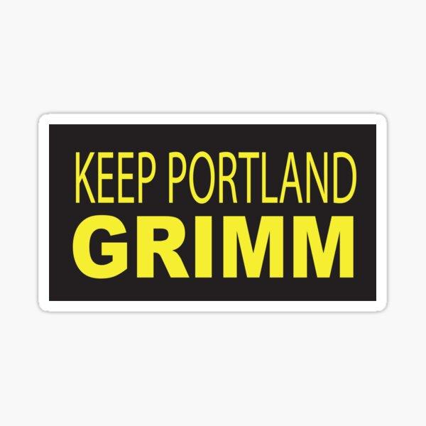 Keep Portland GRIMM Sticker