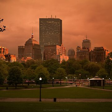Stormy afternoon on the Common, Boston by mattmacpherson