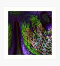 Mandelbulb Zoom Art Print