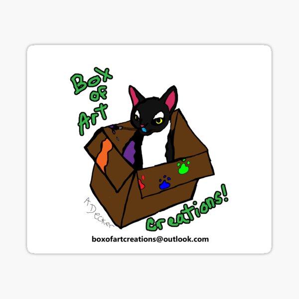 Box of Art Creations Logo Sticker