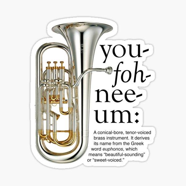 You-foh-nee-um Sticker