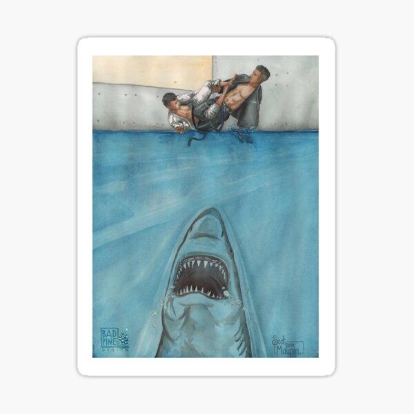 JITS - Mat is Ocean - UNLETTERED Sticker
