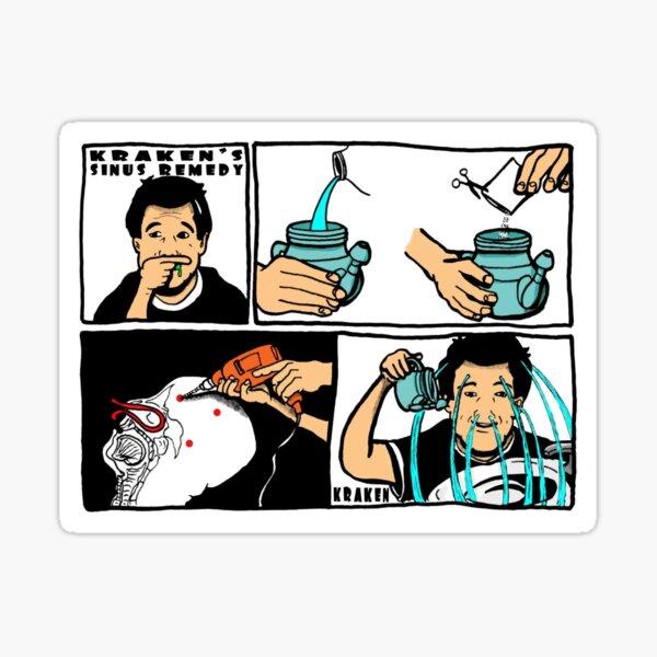 Sinus Remedy Sticker
