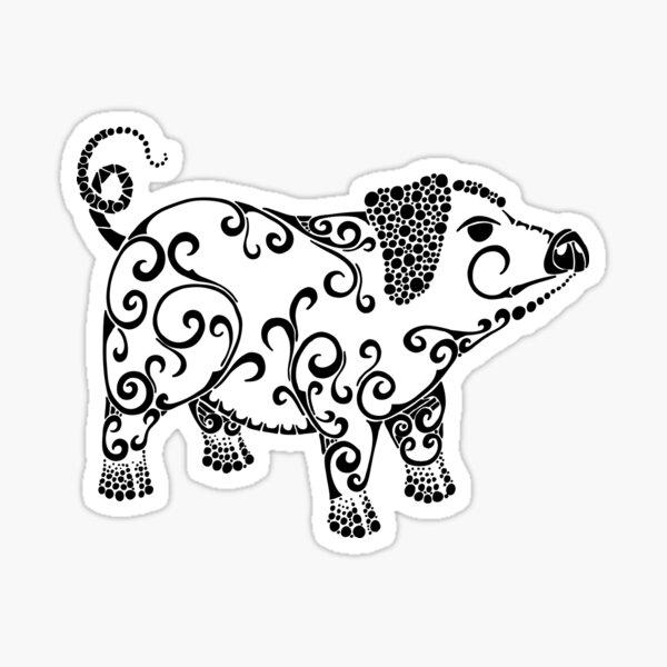 Pig Love Sticker