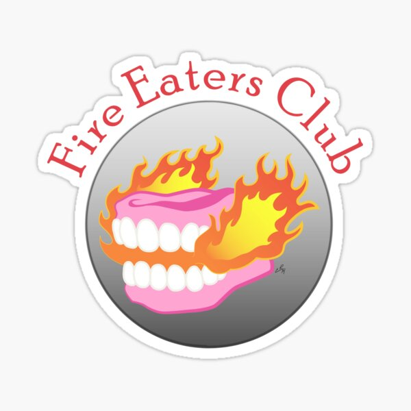 Fire Eaters Club Sticker