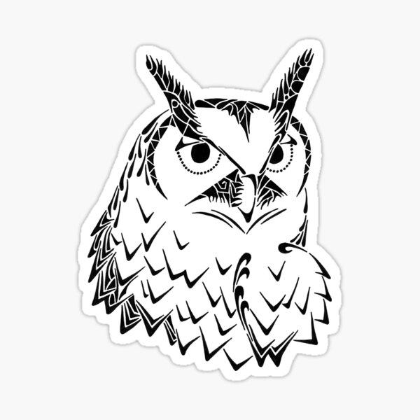Doodle Hoot Sticker