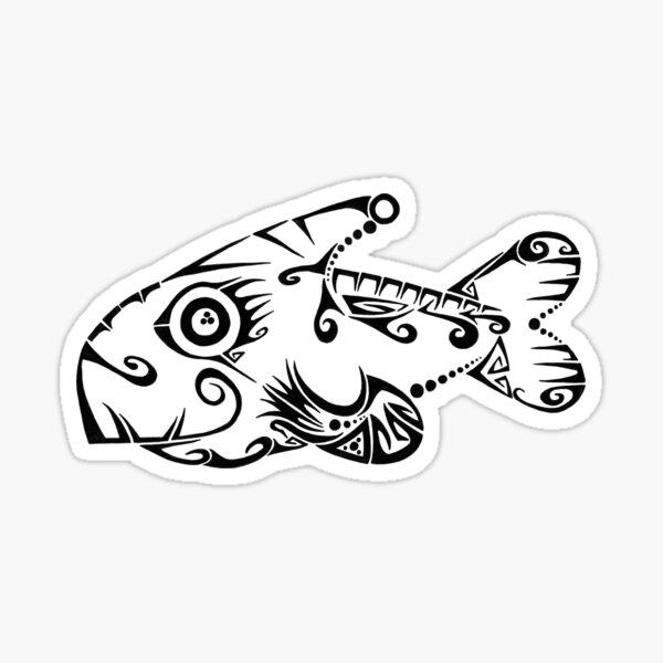Fillet Of Doodle Sticker