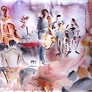 JAZZ IN KAMELOT by Stella  Shube As