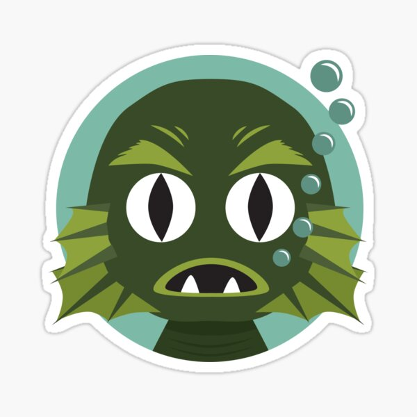 Little Creature from the Black Lagoon Sticker