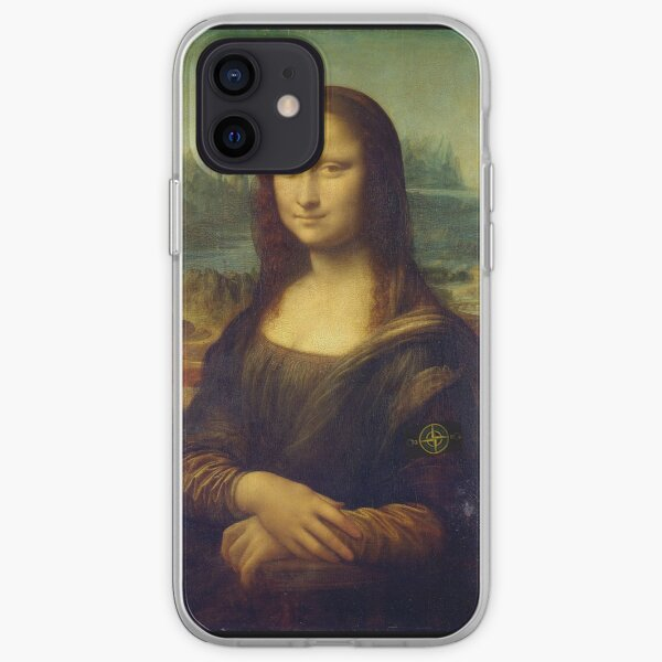 Mona Lisa Stone Island Coque souple iPhone