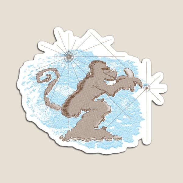 Monkey Island Magnet
