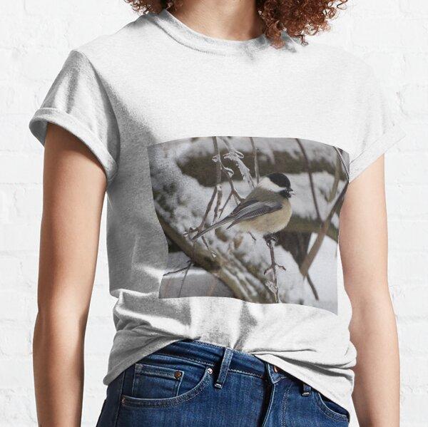 Winter Chickadee Classic T-Shirt