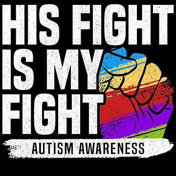 Fight Autism Enlightenment T-Shirt by mjacobp
